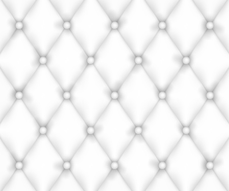 White Leather Upholstery Background Vectores