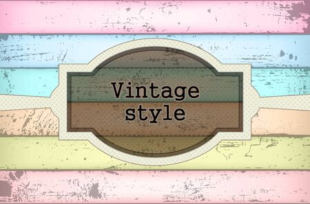 Vintage background Stock Vector - 15029068