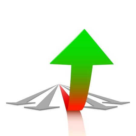 Concept van de groei