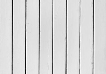Black and white background of weathered painted wooden plank photo