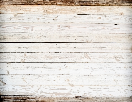 white wood floor: Vintage background Stock Photo