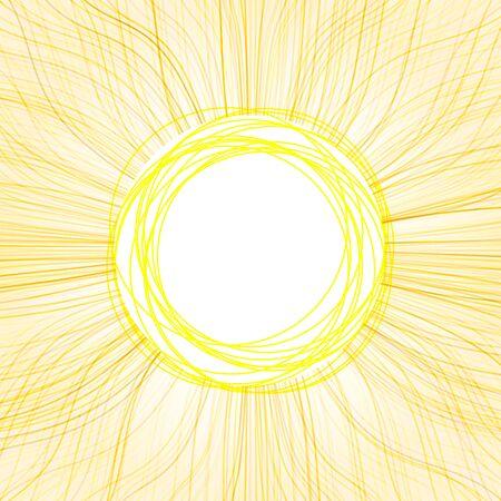 Abstract sun Stock Vector - 18206163