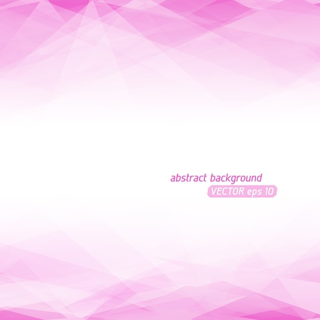 fractal pink: Abstract vector background