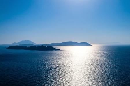 Beautiful landscape. Paradise island of Mediterranean sea.