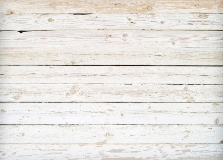 Grunge background of weathered painted wooden plank photo