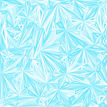 Abstract pattern from group triangles.