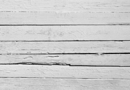 painted wood: Background of weathered white painted wood Stock Photo