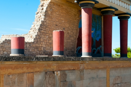 Greece Knossos Palace, ceremonial and political centre of Minoan civilization and culture