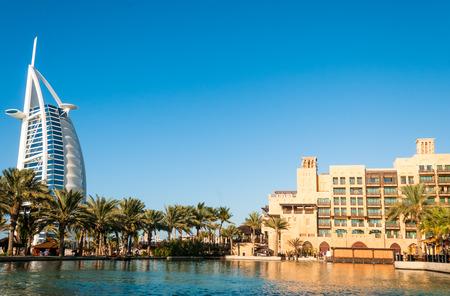 DUBAI, EMIRATI ARABI UNITI - Dicembre, 10 Una visione generale del mondo Archivio Fotografico - 26219499