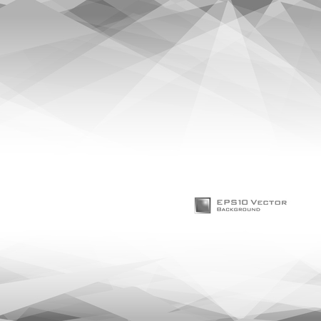 wall angle corner: Black and white triangular design background.  Illustration