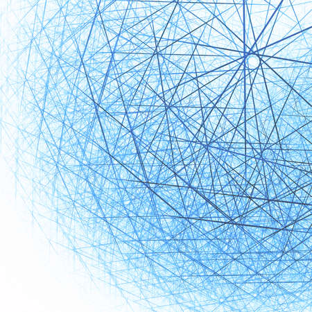 Abstract spherical structure. Computer generated this image Stock Photo - 27319726