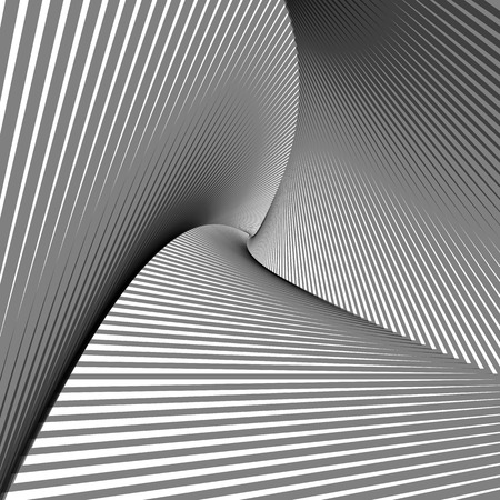 tunnel vision: Abstract triangles desing illustration  Used transparency layers