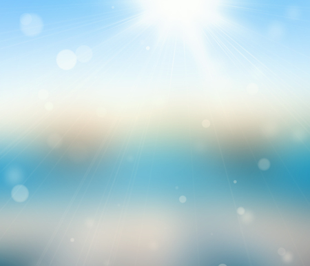 Sparkling bokeh background. Seasonal topic. photo