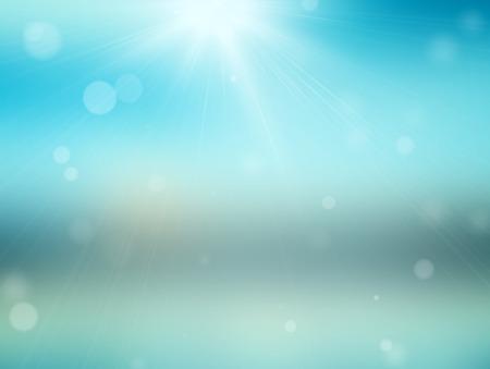 Sparkling bokeh background. Seasonal topic. photo
