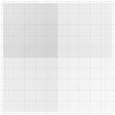 copies: XXL millimeter paper, graph paper or plotting paper. Illustration
