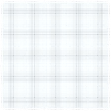 XXL millimeter paper, graph paper or plotting paper.  イラスト・ベクター素材