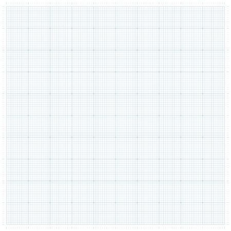 XXL millimeter paper, graph paper or plotting paper. Иллюстрация