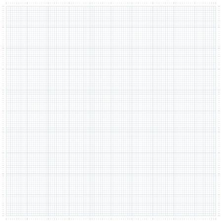 XXL millimeter paper, graph paper or plotting paper. Illustration