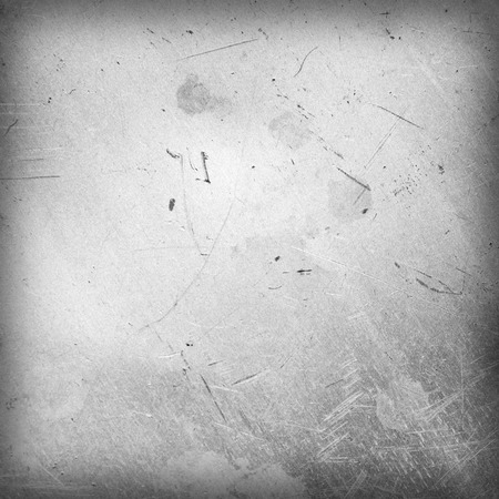 industrial noise: Scratched and spotted a metal sheet Stock Photo