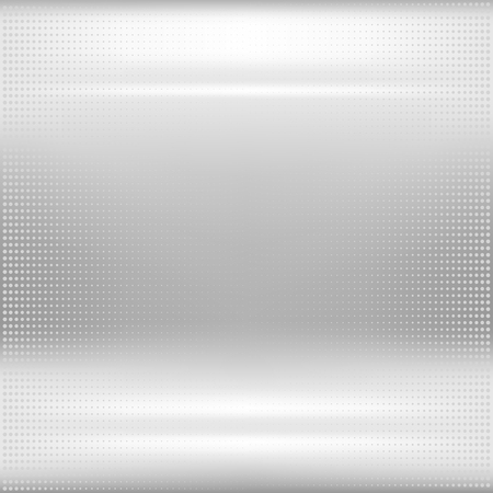 metal surface: Dotted metal texture. Eps10 vector abstract background. Used mesh and opacity for glossy effect at surface Illustration