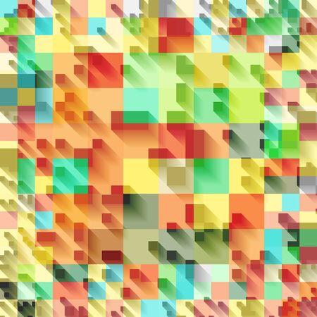 Geometria vettore sfondo. Modello per la progettazione di stile. illustrazione vettoriale lowpoly. strati di trasparenza usati di sfondo Vettoriali