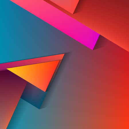 opacity: Vector Polygonal Material Design. Mix old and new styles. Used opacity layers for shadows
