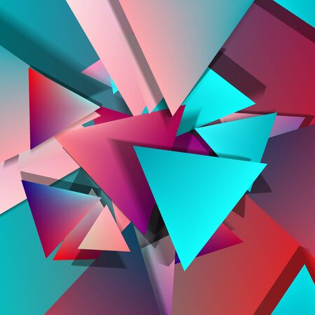 paper material: Vector Polygonal Material Design. Mix old and new styles. Used opacity layers for shadows