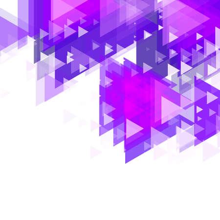 opacity: Trianggular Design. Vector illustration. Used opacity layers