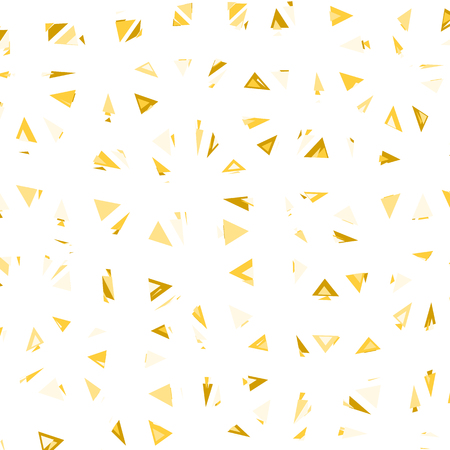 glitch: Triangular Vector Pattern. Glitch trendy illustration.