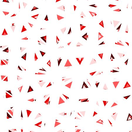 glitch: Triangular Vector Pattern. Glitch trendy illustration.