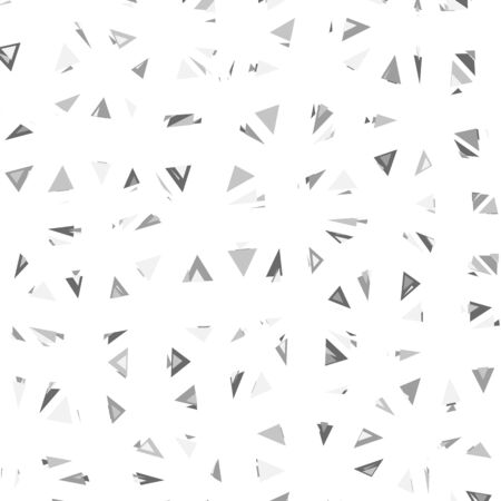 glitch: Triangular Pattern. Glitch trendy illustration.