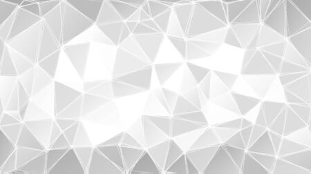 trendy: Gray triangular abstract background. Trendy vector illustration.