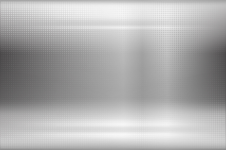 abstract backround: Dotted metal texture. Vector abstract backround. Used opacity mask for glossy effect at surface