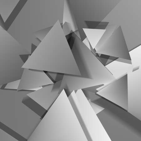 battered: Vector Polygonal Material Design. Used opacity layers
