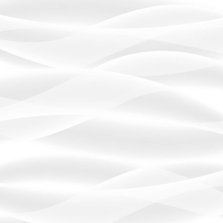 white abstract: Vector white background of abstract waves. Used meshes and transparency layers