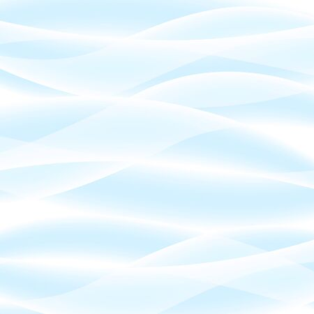 Vector white background of abstract waves. Used meshes and transparency layers