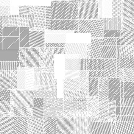 squares background: Abstract squared background from striped shapes