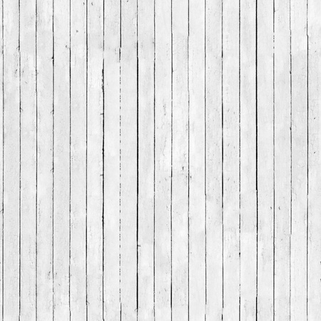 white board: Black and white background of weathered painted wooden plank. Seamless background for 3D objects Stock Photo