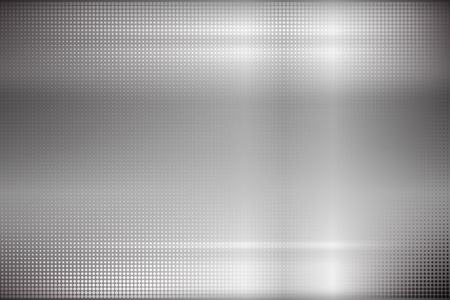 cromo: Fondo metálico. ilustración.