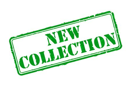 stamp collection: New collection rubber stamp