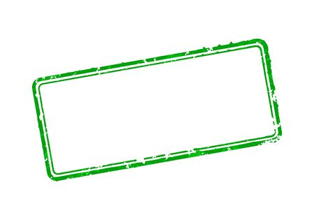 Frame of rubber stamps 일러스트