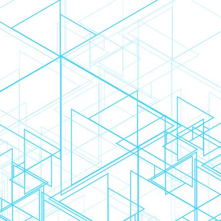 Abstract triangular background Standard-Bild