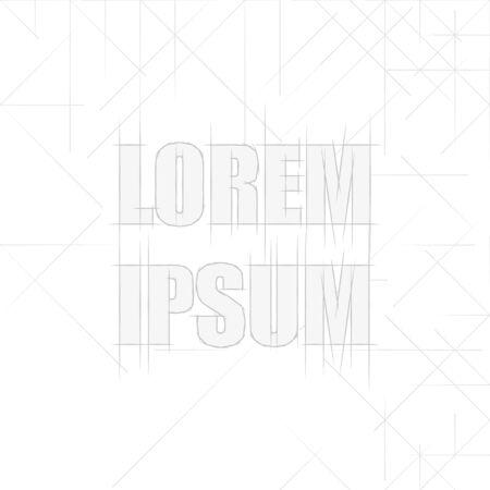 Eenvoudig driehoekig patroon Stock Illustratie
