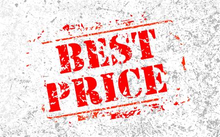Best price label stamp