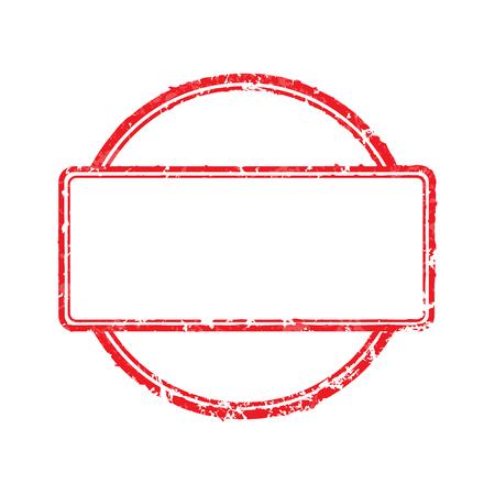 Frame of rubber stamps Reklamní fotografie