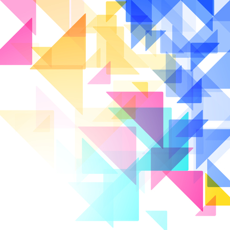 Geometric simple minimalistic background. Triangles Vector illustration Stock Illustratie