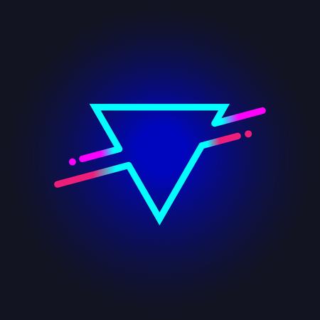 Trendy shape triangle