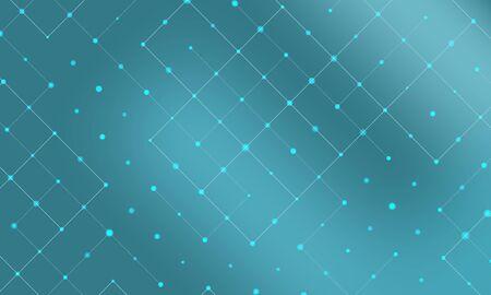 Simple blue pattern. Vector illustration