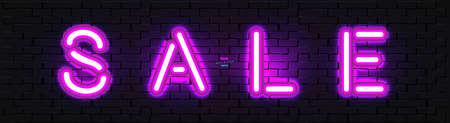 Neon banner Sale