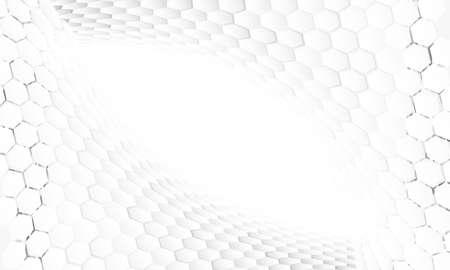 Hexagonal abstract backround Foto de archivo